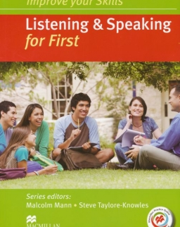 Improve Your Skills Listening & Speaking for First Student's Book without Answer Key, with 2 Audio CDs & Macmillan Practice Online