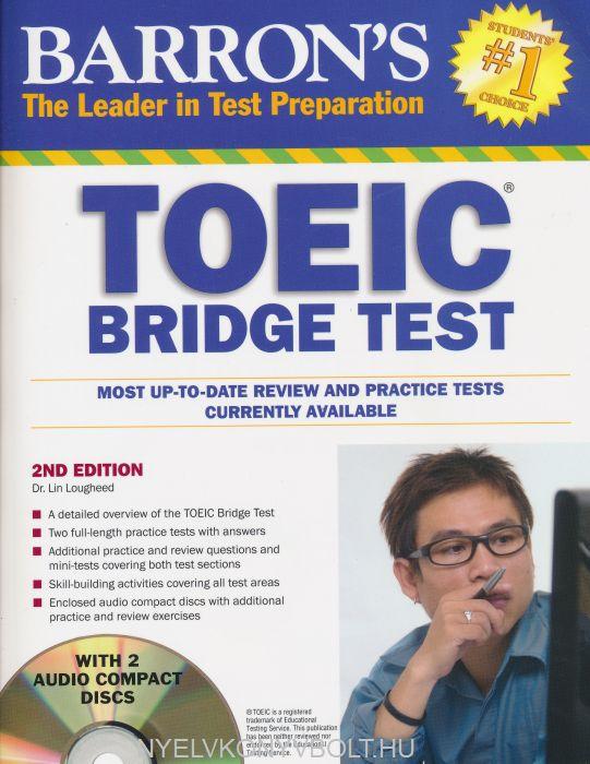 Barron's TOEIC Bridge Test with Audio CDs: Test of English for International Communication