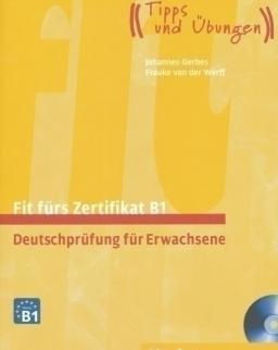 Fit fürs Zertifikat B1 Lehrbuch mit zwei integrierten Audio-CDs