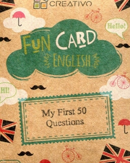 Fun Card English: My First 50 Questions