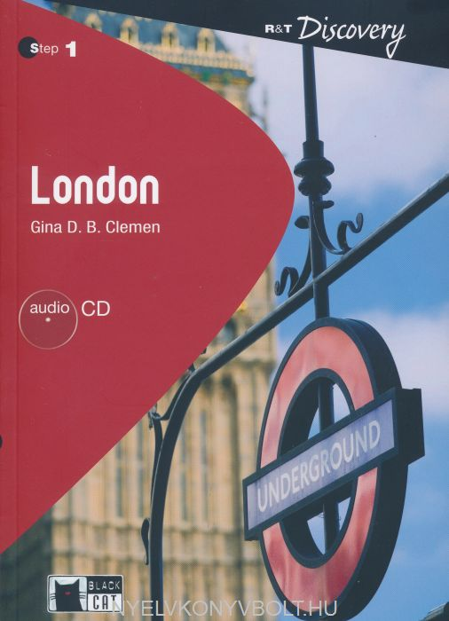 London with Audio CD - Black Cat Reading and Training Step 1 (A2 / Elementary)