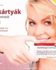 Szókártyák Német nyelvből B1 szinten (MX-487)