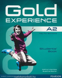 Gold Experience A2 Key for Schools Student's Book with DVD-Rom