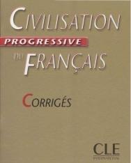 Civilisation progressive du français Niveau débutant Corrigés