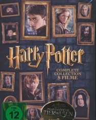 Harry Potter DVD - The Complete Collection (English, Deutsch)