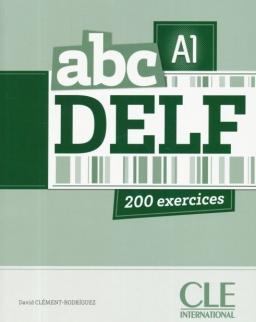 abc DELF A1 200 exercices Livre + CD audio MP3