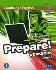Cambridge English Prepare! Workbook Level 6 with Downloadable audio