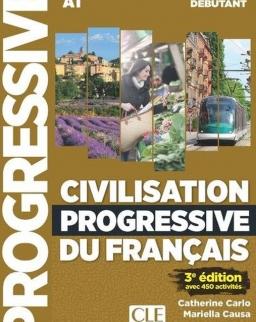 Civilisation progressive du français - Niveau débutant - Livre + CD + livre-web - 3eme édition