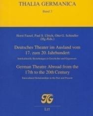 Deutsches Theater im Ausland vom 17. zum 20. Jahrhundert