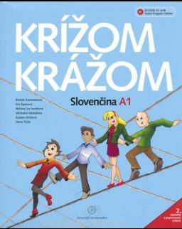 Krížom krážom - Slovenčina A1 + online audio - 2. doplnené a prepracované vydanie