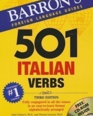 501 Italian Verbs with CD-ROM - Barron's Foreign Language Guides