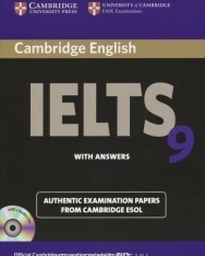 Cambridge IELTS 9 Official Examination Past Papers Student's Book with Answers and 2 Audio CDs Self-Study Pack