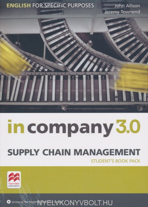 In Company 3.0 Supply Chain Management Student's Book Pack with Access to the Student's Resource Centre
