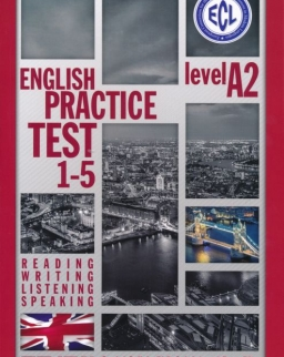 ECL English Practice Test 1-5 Level A2 - Letölthető MP3