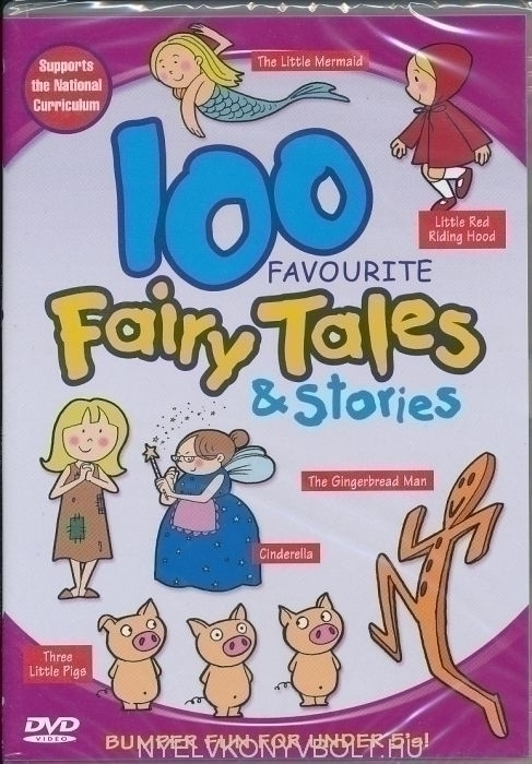100 Favourite Fairy Tales & Stories DVD
