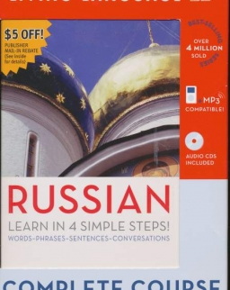 Living Language - Russian - Complete Course The Basics - Book & 4 Audio CDs + Dictionary