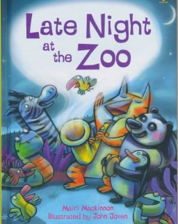 Late Night at the Zoo - Usborne Very First Reading