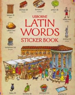 Latin Words Sticker Book (Usborne Sticker Book)