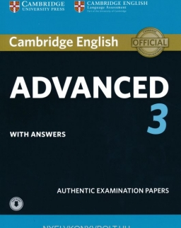 Cambridge English Advanced  with Answers and Online Dowloadable Audio - For Revised exam from 2015