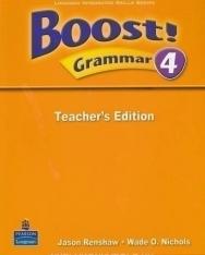 Boost! Grammar 4 Teacher's Edition