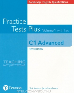 Practice Test Plus C1 Advanced Volume 1 with Key - New Edition for the 2015 Exam Specifications