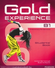 Gold Experience B1 Preliminary for Schools Student's Book with DVD-Rom