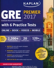 Kaplan GRE Premier 2017 with 6 Practice Tests: Online + Book + Videos + Mobile