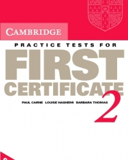 Cambridge Practice Tests for First Certificate 2 Cassette set