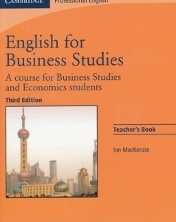 English for Business Studies 3rd Edition Teacher's Book