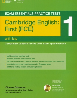 Exam Essentials Practice Tests-Cambridge English: First (FCE) 1 with Key and DVD-ROM