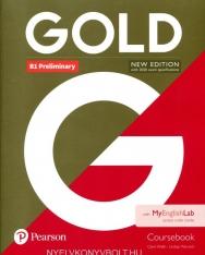 Gold B1 Preliminary Coursebook with MyEnglishlab Internet Access Code - New Editon
