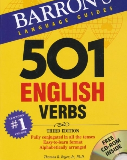 501 English Verbs with CD-ROM - Barron's Language Guides