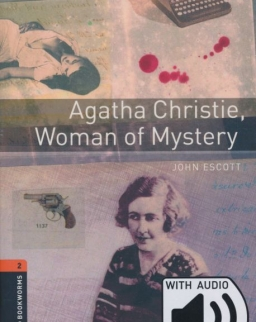 Agatha Christie, Woman of Mystery with Audio Download - Oxford Bookworms Library Level 2