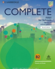 Complete First for Schools 2nd Edition Workbook without Answers + Audio Download