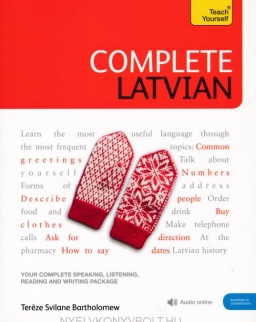 Teach Yourself - Complete Latvian Beginner to Intermediate with Audio Online