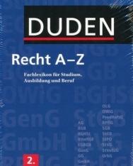 Duden Recht A-Z Fachlexikon 2. Auflage