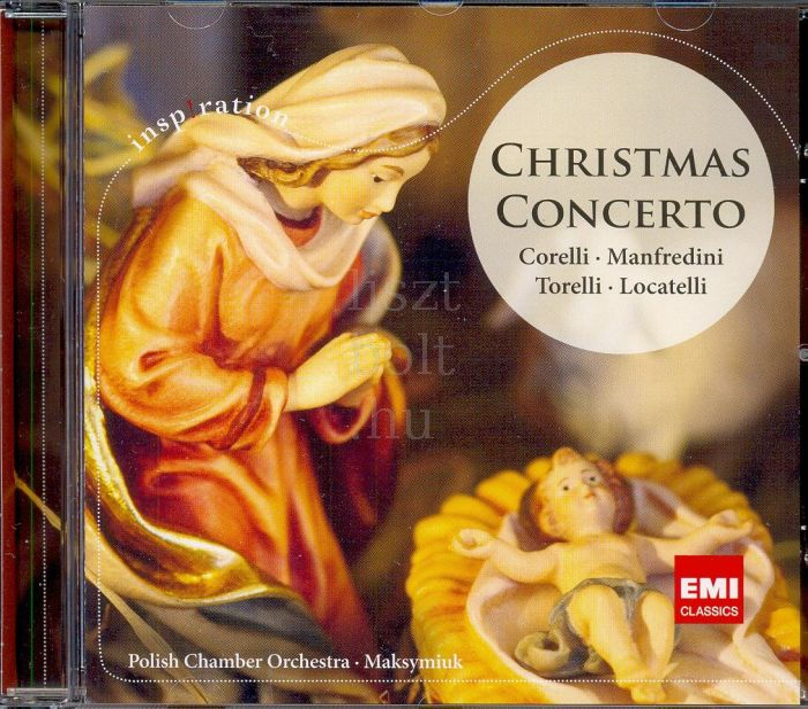 Christmas Concerto - Corelli, Manfredini, Torelli, Locatelli Concertos