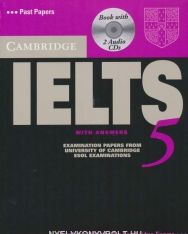 Cambridge IELTS 5 Official Examination Past Papers Student's Book with Answers and 2 Audio CDs Self-Study Pack