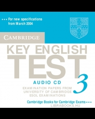Cambridge Key English Test 3 Official Examination Past Papers 2nd Edition Audio CD
