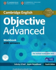 Objective Advanced 4th Edition Workbook with Answers and Audio CD  for revised exam from 2015 (Student's Book with Ansewrs and CD-ROM)