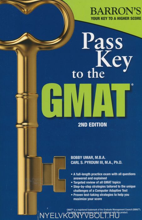 Barron's Pass Key to the GMAT Seventh Edition
