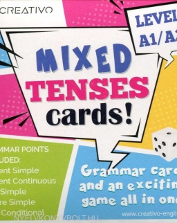 Mixed Tenses Cards level A1/A2