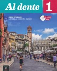 Al dente 1 Corso D'Italiano Libro dello studente + Esercizi + CD audio e DVD