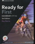 Ready for First (FCE) (3rd Edition) Student's Book with Key & Class Audio CD & Macmillan Practice Online