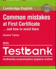 Common Mistakes at First Certificate... and How to Avoid Them with Testbank Authentic Examination Papers Online