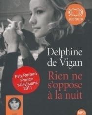 Delphine de Vigan: Rien ne s'oppose á lá nuit - MP3 CD