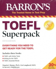 Barron's TOEFL Superpack: 3 Books + Practice Tests + Audio Online