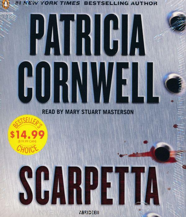 Patricia Cornwell: Scarpetta - Audio Book (5CDs)