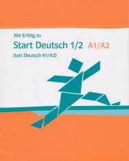 Mit Erfolg zu Start Deutsch 1/2 A1-A2 (telc Deutsch A1/A2) - Testbuch
