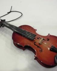 Karácsonyfadísz - hegedű